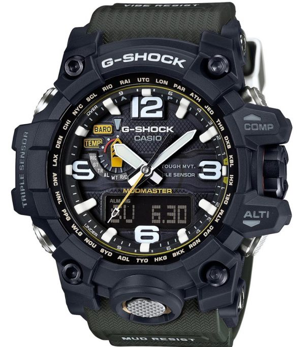 GWG 1000 1A 02 600x682 - Đồng Hồ Nam G Shock GWG-1000-1A Bộ 3 Cảm Biến