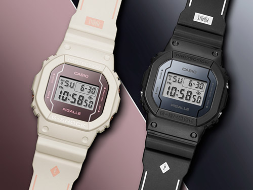 DW 5600PGW 7 3 - Đồng Hồ Nam Casio G Shock DW-5600PGW-7 PIGALLE Số Lượng Có Hạn