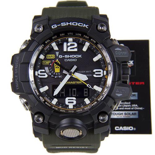GWG 1000 1ADR 2 - Đồng Hồ Nam G Shock GWG-1000-1A Bộ 3 Cảm Biến