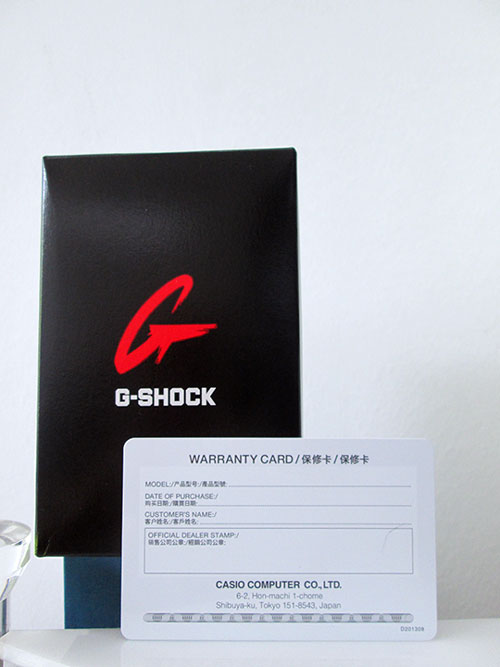 the bao hanh gshock 2 - Đồng Hồ Nam G Shock GA-800SC-7A Dây Nhựa Màu Trắng