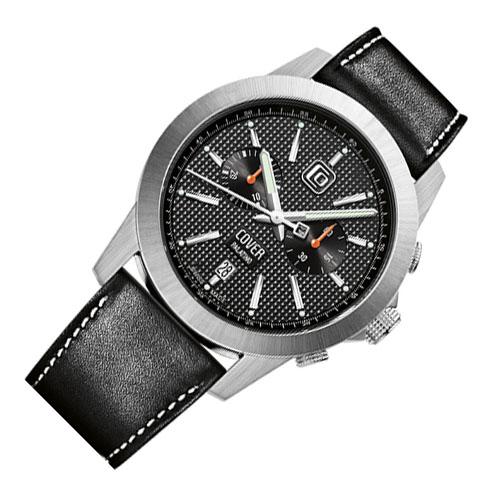 Co155 03 2 - Đồng hồ Cover Co155.03 Black- Dây Da