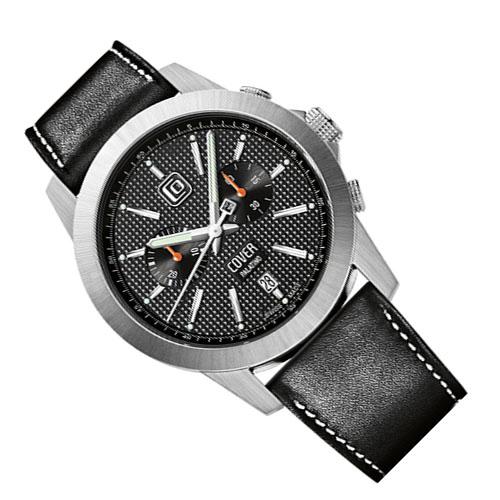 Co155 03 3 - Đồng hồ Cover Co155.03 Black- Dây Da
