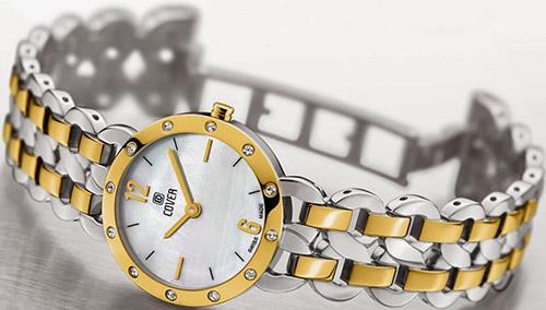 179.02  - Đồng hồ Nữ Cover Co170.02 - Dây Kim Loại Mạ Vàng