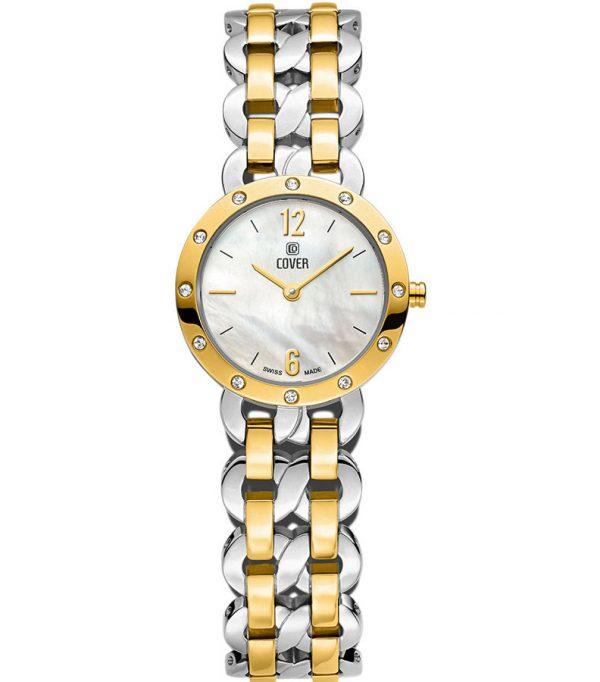 Co179 02 0 600x682 - Đồng hồ Nữ Cover Co170.02 - Dây Kim Loại Mạ Vàng