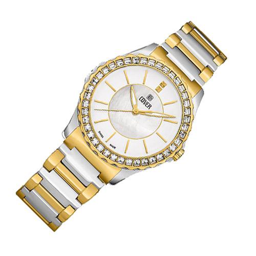 Co191 02 3 - Đồng hồ Nữ Cover Co191.02 - Dây Kim Loại Mạ Vàng