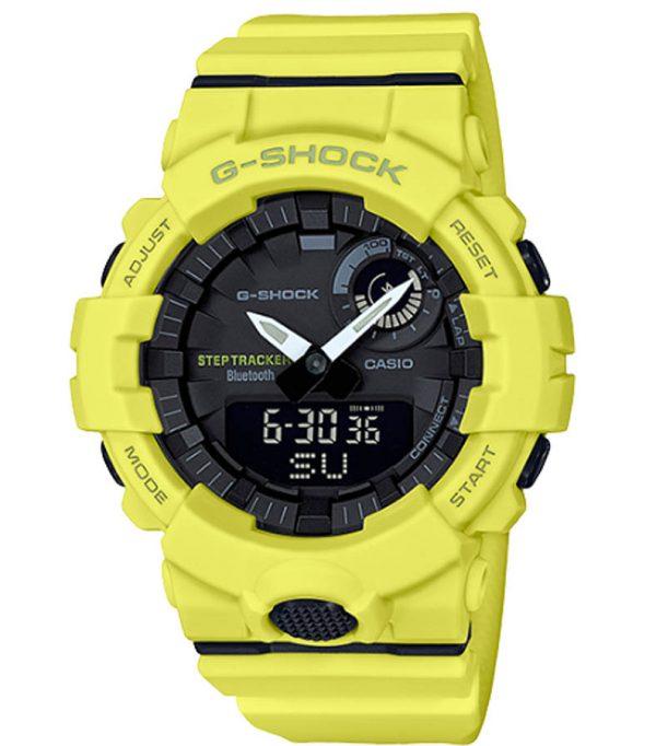 GBA 800 9A 10 600x682 - Đồng Hồ Nam Casio G Shock GBA-800-9ADF Kết Nối Điện Thoại
