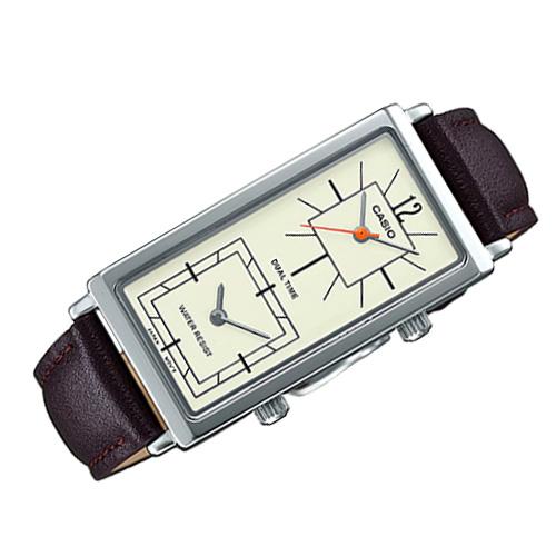 LTP E151L 5B 3 - Đồng hồ Nữ Casio LTP-E151L-5B Dây Da Thật