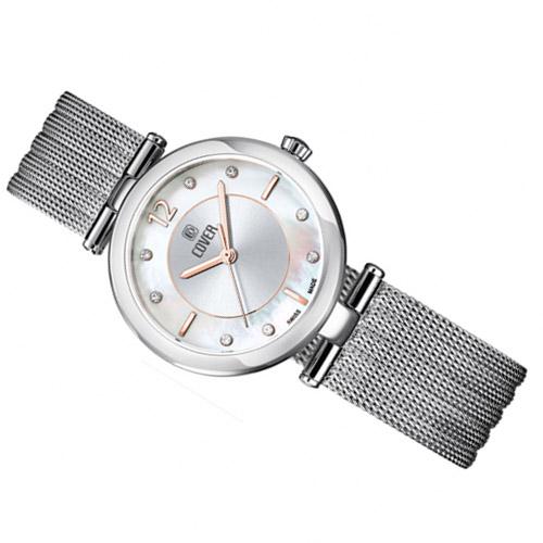 Co193 02 2 - Đồng hồ Nữ Cover CO193.01 Quartz - Dây Kim Loại