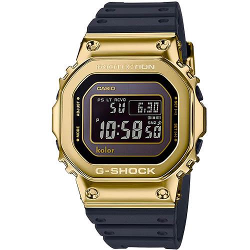 GMW B5000KL 9 00 - Đồng Hồ Nam Casio G Shock GMW-B5000KL-9AVDF Dây Nhựa Cao Cấp