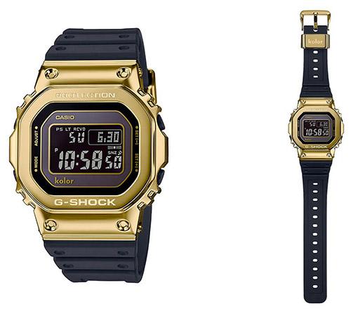 kolor g shock gmw b5000kl 9 - Đồng Hồ Nam Casio G Shock GMW-B5000KL-9AVDF Dây Nhựa Cao Cấp