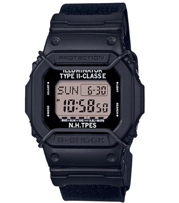 DW D5600NH 1 01 600x682 - Đồng Hồ Nam Casio G Shock DW-D5600NH-1 Dây Đeo Bằng Vải