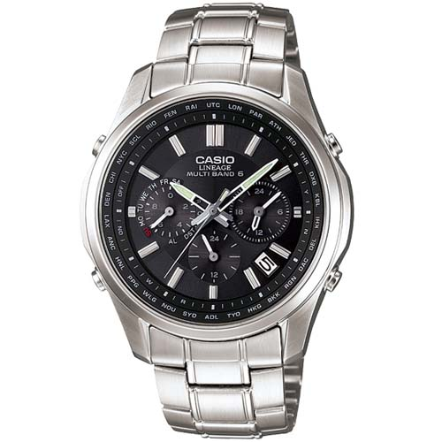 LIW M610D 1A 0 - Đồng Hồ Nam Casio Lineage LIW-M610DB-1A Dây Kim Cao Cấp
