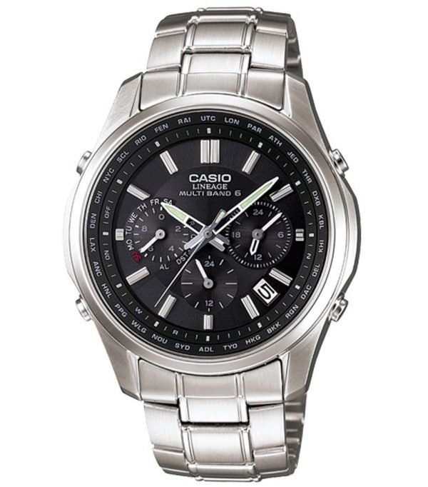 LIW M610D 1A 0000 600x682 - Đồng Hồ Nam Casio Lineage LIW-M610D-1AVDF Dây Kim Cao Cấp