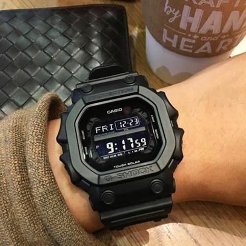 GX 56BB 1DR 6 - Đồng Hồ Nam Casio G Shock GX-56BB-1DR Dây Nhựa - Pin Mặt Trời