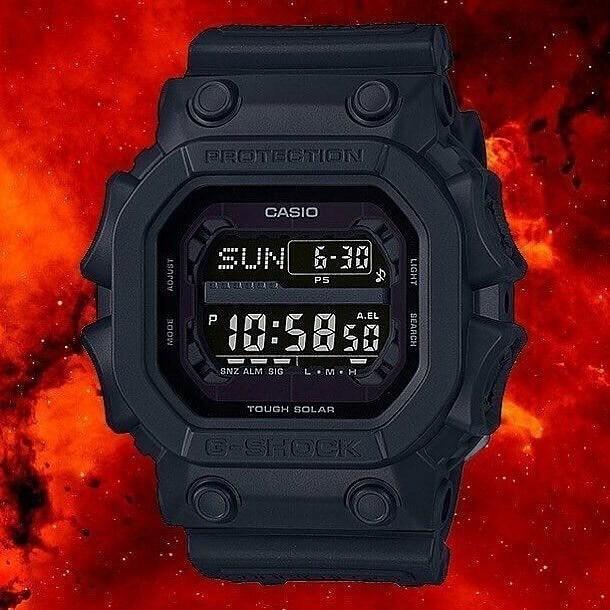 GX 56BB 1DR 7 - Đồng Hồ Nam Casio G Shock GX-56BB-1DR Dây Nhựa - Pin Mặt Trời