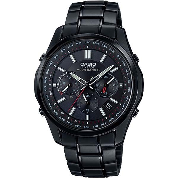 LIW M610DB 1A 000 600x600 - Đồng Hồ Nam Casio Lineage LIW-M610DB-1A Dây Kim Cao Cấp