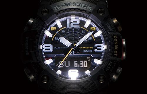 GG B100 1A3 6 - Đồng Hồ Nam G Shock GG-B100-1A3 Kết Nối Điện Thoại