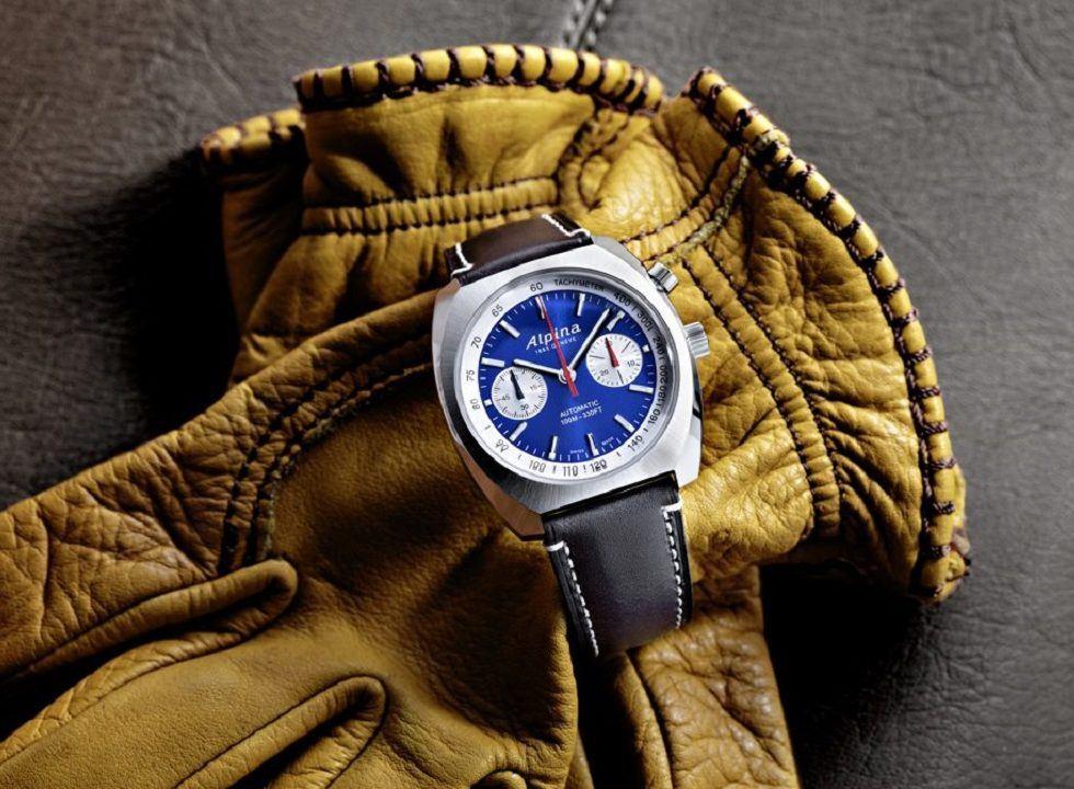 Alpina 2 - Đồng hồ Alpina nước nào sản xuất? Đồng hồ Alpina Startimer Pilot Heritage Chronograph giá bao nhiêu?