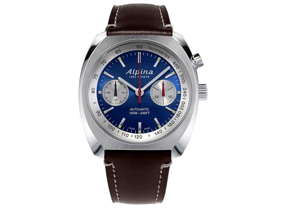 Alpina 4 - Đồng hồ Alpina nước nào sản xuất? Đồng hồ Alpina Startimer Pilot Heritage Chronograph giá bao nhiêu?