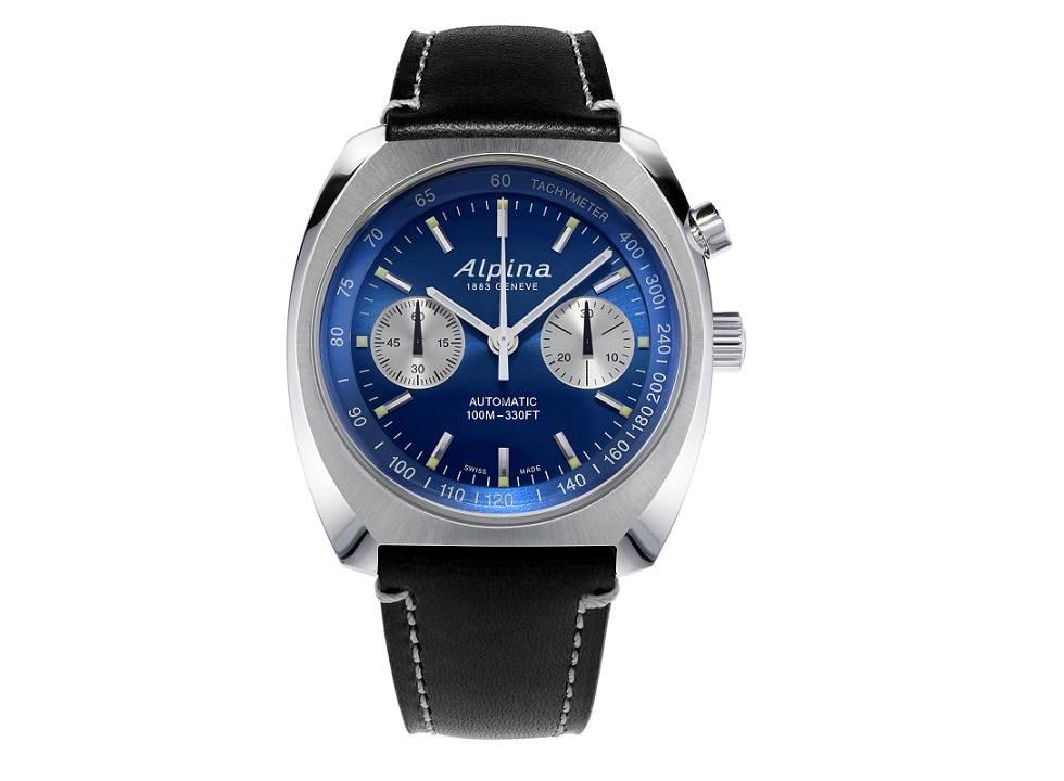 Alpina 5 - Đồng hồ Alpina nước nào sản xuất? Đồng hồ Alpina Startimer Pilot Heritage Chronograph giá bao nhiêu?