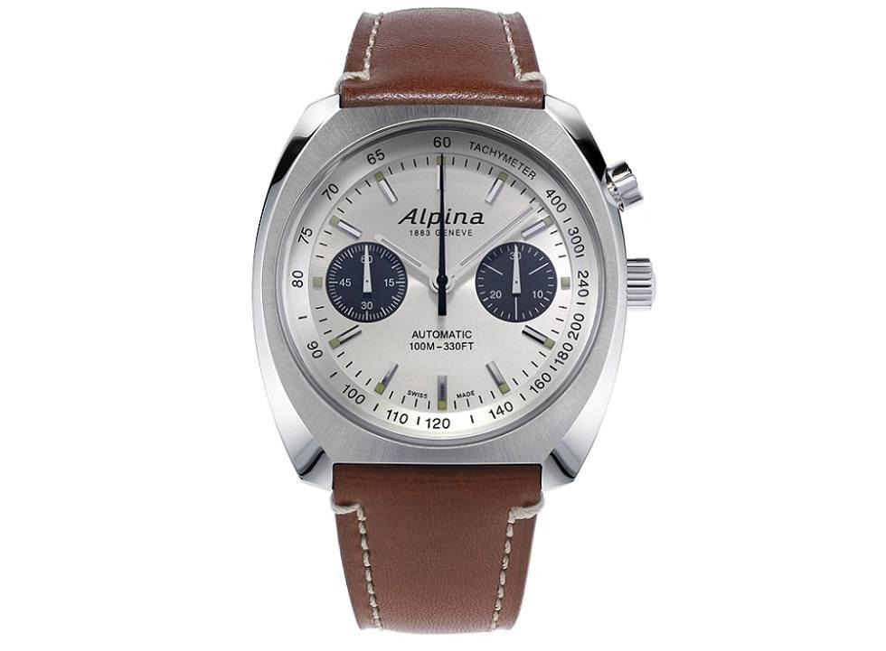 Alpina 6 - Đồng hồ Alpina nước nào sản xuất? Đồng hồ Alpina Startimer Pilot Heritage Chronograph giá bao nhiêu?