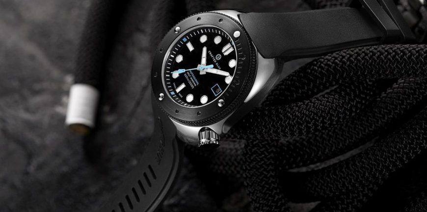 Crafter Blue Hyperion Ocean 600m Swiss Diver siêu hot
