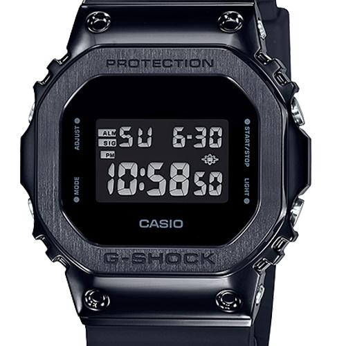 GM 5600B 1 6 - Đồng Hồ Nam G Shock GM-5600B-1JF Dây Nhựa Màu Đen