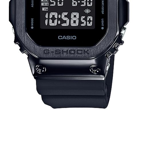 GM 5600B 1 7 - Đồng Hồ Nam G Shock GM-5600B-1JF Dây Nhựa Màu Đen