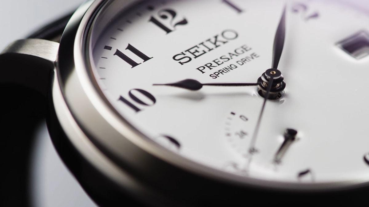 gallery1 - SNR039J1 & SNR037J1 Ra mắt mẫu đồng hồ Seiko Chuyển động của Spring Drive cực chất