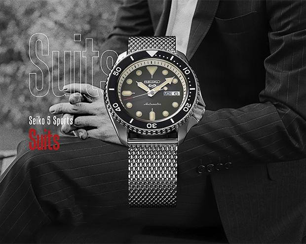 seiko 5 2 - Đồng hồ Seiko 5 Sports - Hồi sinh thiết kế đậm chất thể thao
