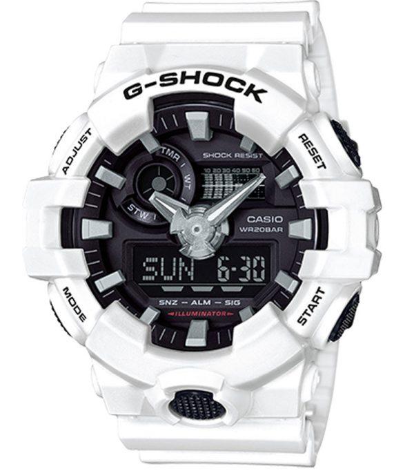 GA 700 7A 00 600x682 - Đồng Hồ Nam Casio G Shock GA-700-7A Dây Nhựa