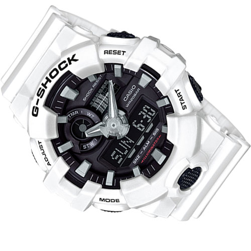 GA 700 7A 1 - Đồng Hồ Nam Casio G Shock GA-700-7A Dây Nhựa