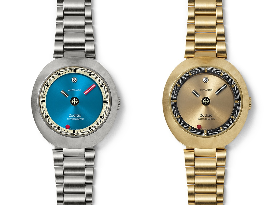 Zodiac Astrographic 1969 Reissue White - Ngắm bộ đôi đồng hồ Zodiac phiên bản giới hạn siêu chất năm 2019