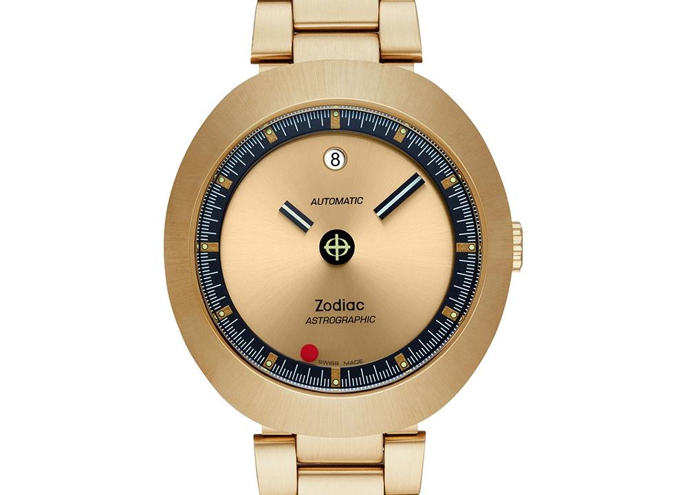 Zodiac Astrographic Gold - Ngắm bộ đôi đồng hồ Zodiac phiên bản giới hạn siêu chất năm 2019