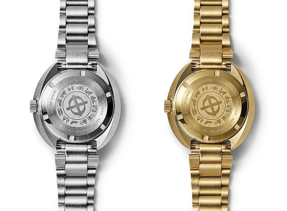 Zodiac Astrographic Reissue caseback - Ngắm bộ đôi đồng hồ Zodiac phiên bản giới hạn siêu chất năm 2019