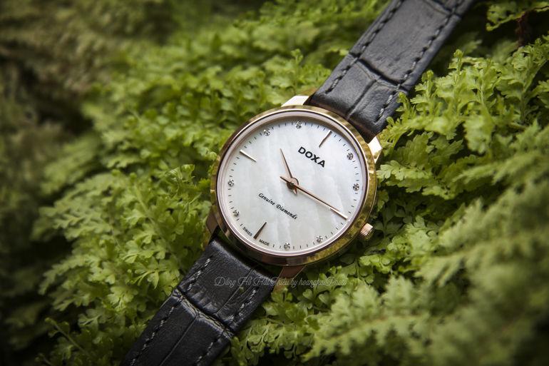 doxa 2 - Đồng hồ Excutive Slim sản xuất ở đâu? Các chức năng của đồng hồ Excutive Slim