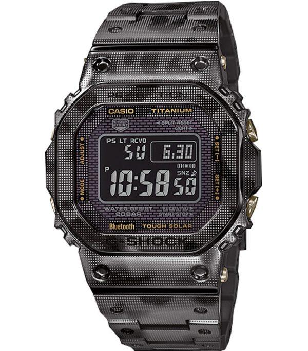 GMW B5000TCM 1 00 600x682 - Đồng Hồ Nam Casio G Shock GMW-B5000TCM-1 Dây Đeo Titan