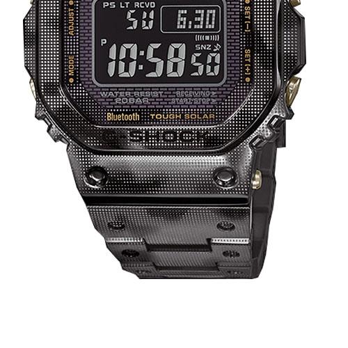 GMW B5000TCM 1 5 - Đồng Hồ Nam Casio G Shock GMW-B5000TCM-1 Dây Đeo Titan