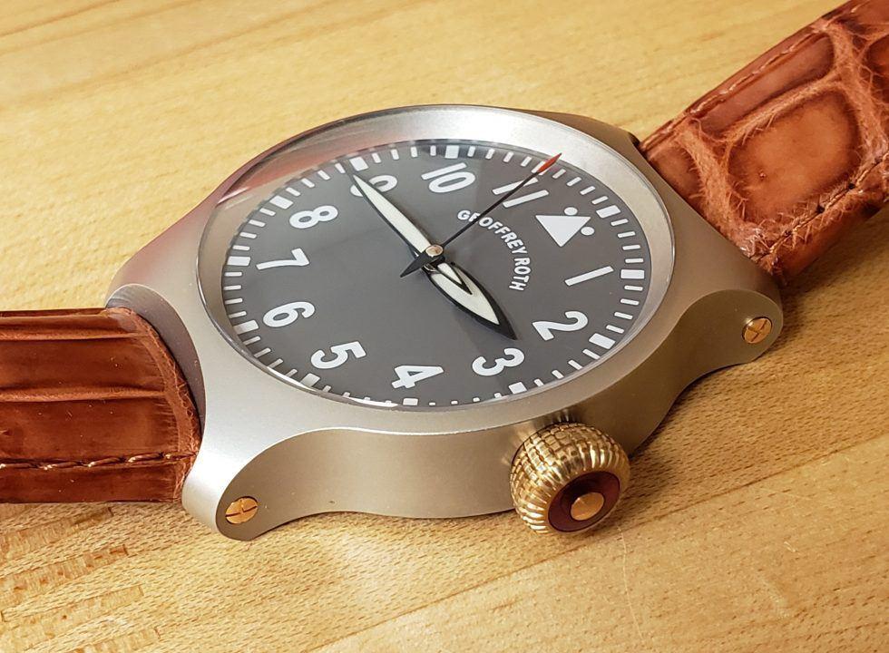 hh7 1 - Đồng hồ Geoffrey Roth HH7 Flieger là của nước nào? có tốt không?