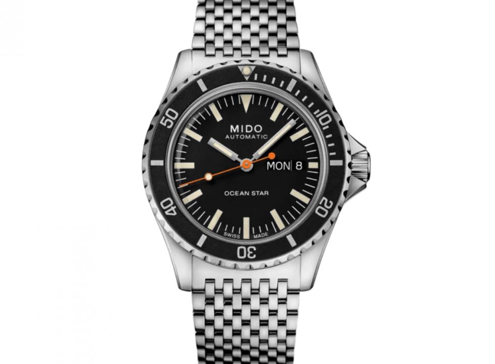 Mido Ocean Star Tribute 980x720 1 - Top 3 Chiếc đồng hồ lặn Retro với giá khoảng 1.000 đô la
