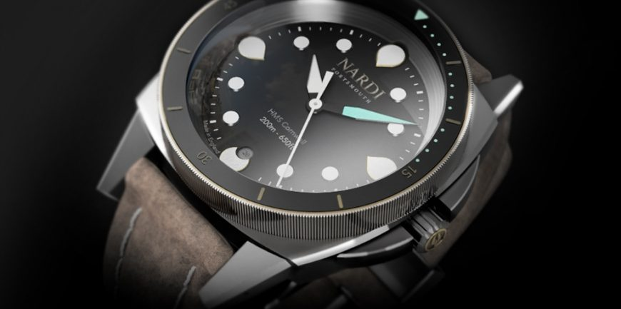 Khám phá Bộ chuyển động Nardi HMS-C20 của Anh trong bộ sưu tập đồng hồ đeo tay mới