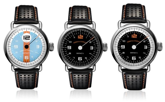 Đồng hồ Ferro & Co. – Một chiếc đồng hồ đua cổ điển lấy cảm hứng từ Le Mans
