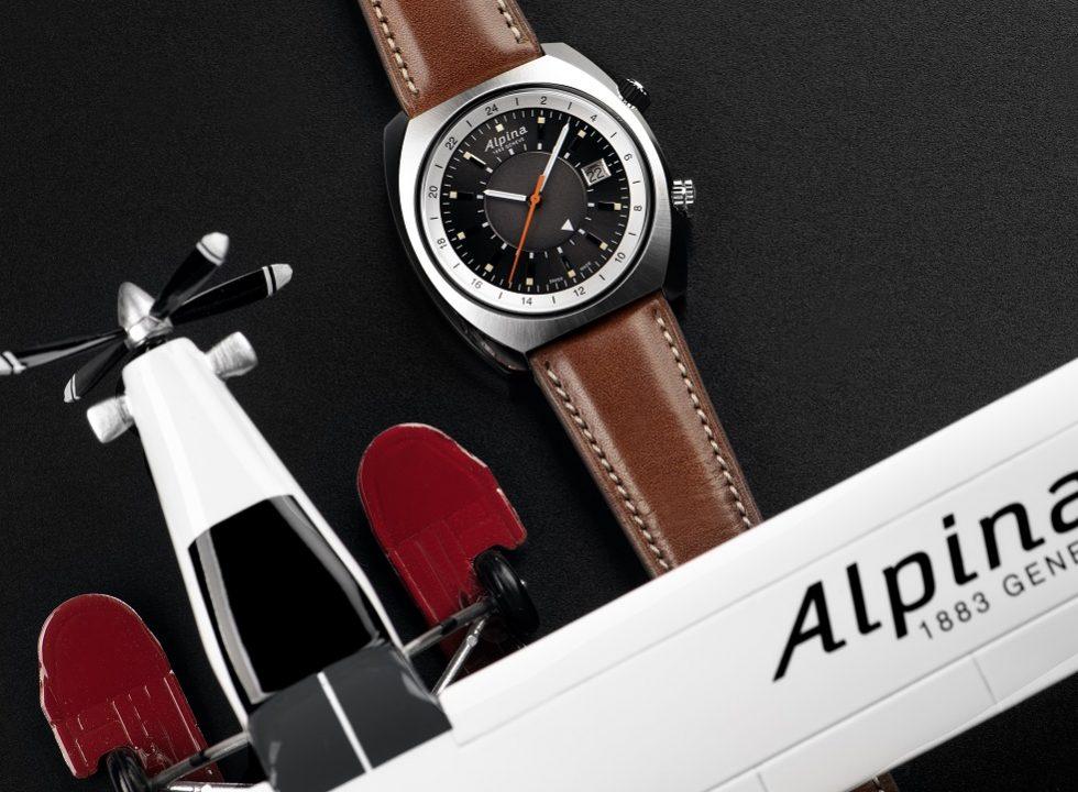 Alpina AL 555DGS4H6 - Đồng hồ Alpina Startimer Automatic đậm chất thể thao