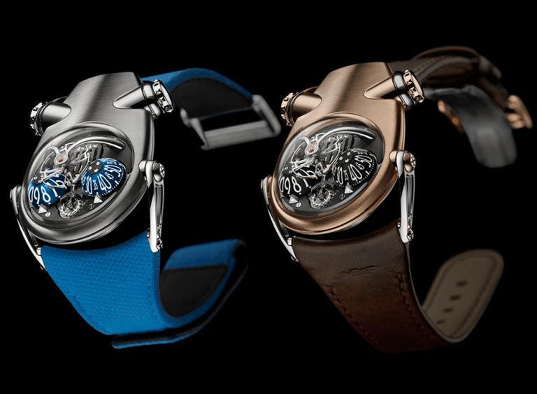 HM10BULLDOG 1 768x564 1 - MB & F ra mắt phiên bản đồng hồ đeo tay HM10 Bulldog