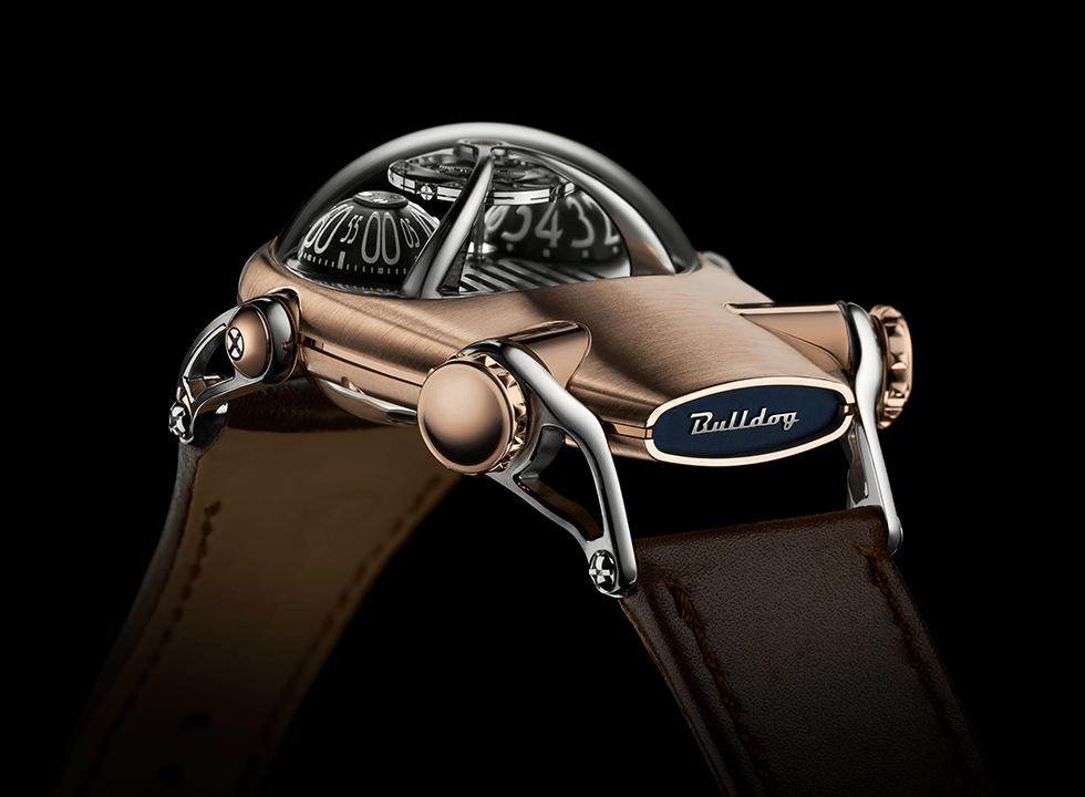 HM10BULLDOG 3 - MB & F ra mắt phiên bản đồng hồ đeo tay HM10 Bulldog