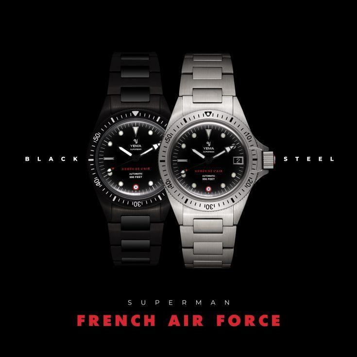 dong ho phap YEMA 4 - Đồng hồ Pháp Yema giá bình dân - Phiên bản giới hạn quân sự