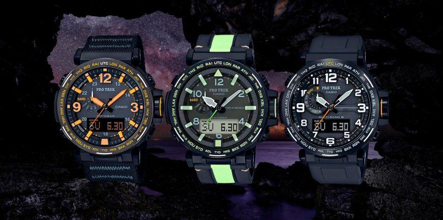 Casio ProTrek 2020: Bộ sưu tập đồng hồ Casio nam dành cho nhà thám hiểm