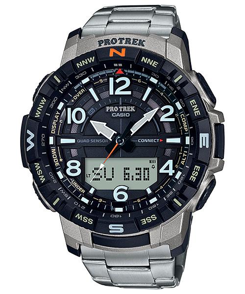 Casio ProTrek PRT B50T 7 1 - Casio ProTrek 2020: Bộ sưu tập đồng hồ Casio nam dành cho nhà thám hiểm