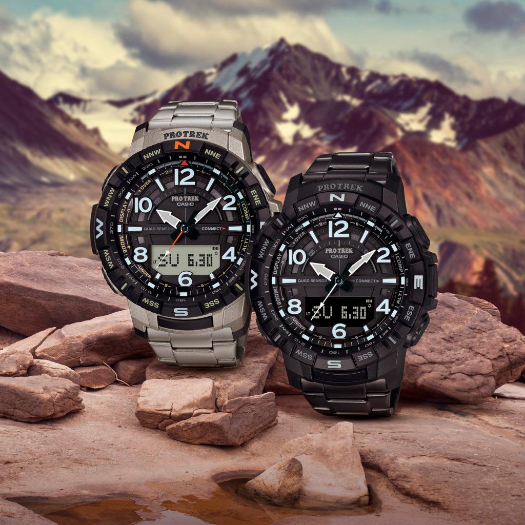 Casio ProTrek PRT B50T 7 PRT B50YT 1 - Casio ProTrek 2020: Bộ sưu tập đồng hồ Casio nam dành cho nhà thám hiểm
