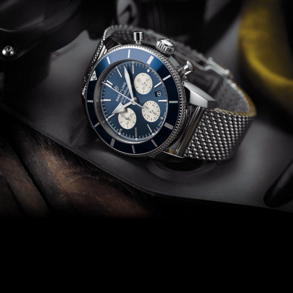 superocean 1080 1 1024x1024 - Khám phá đồng hồ Breitling Chronomat đậm chất thể thao